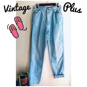 "Vintage Stonewashed High Waisted ""Mom"" Lee Jeans"